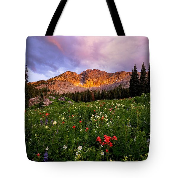 Silent Stirrings Tote Bag