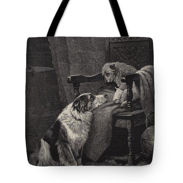 Silent Sympathy Tote Bag