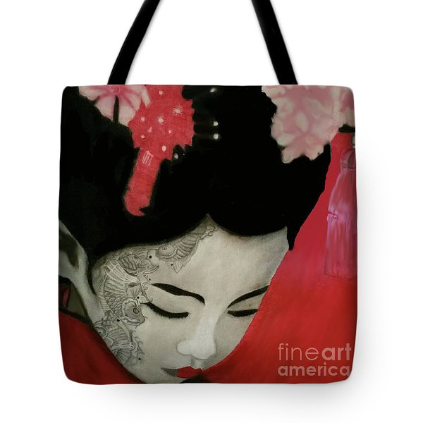 Silent Thoughts Tote Bag