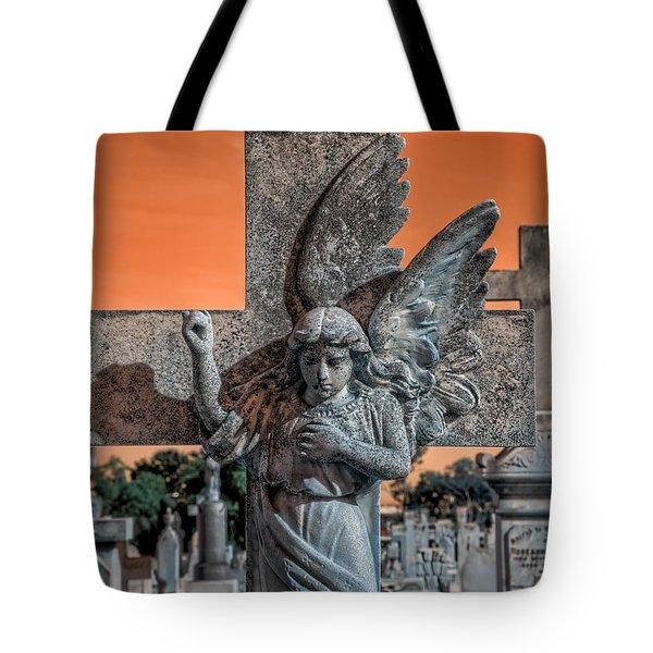 Silent Vigil Tote Bag
