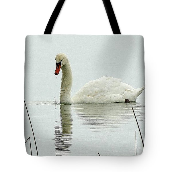 Silent Water Tote Bag