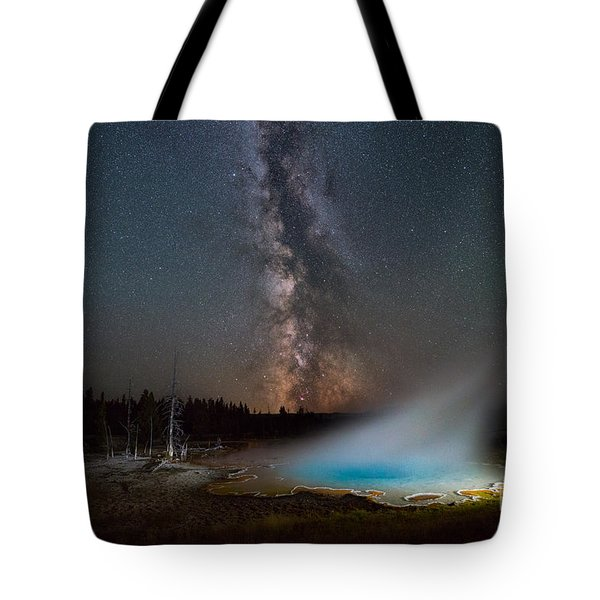 Silex Spring Milky Way  Tote Bag