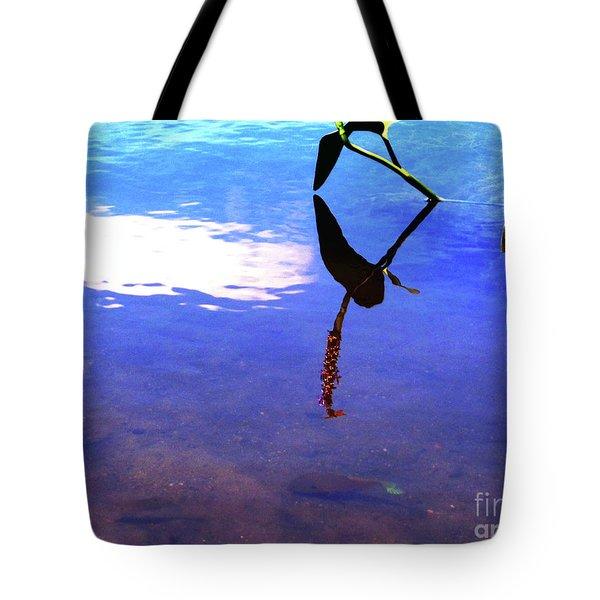 Silhouette Aquatic Fish Tote Bag