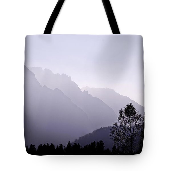 Silhouette Austria Europe Tote Bag by Sabine Jacobs