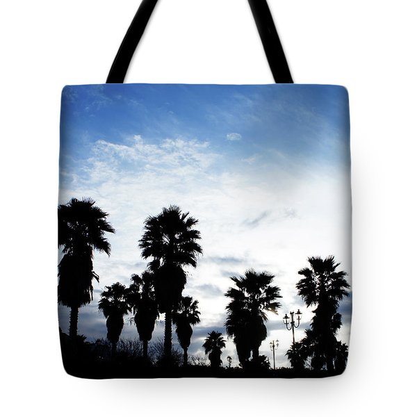 Silhouette In Tropea Tote Bag by Ana Mireles