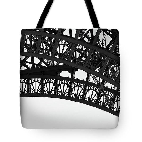 Silhouette - Paris, France Tote Bag by Melanie Alexandra Price