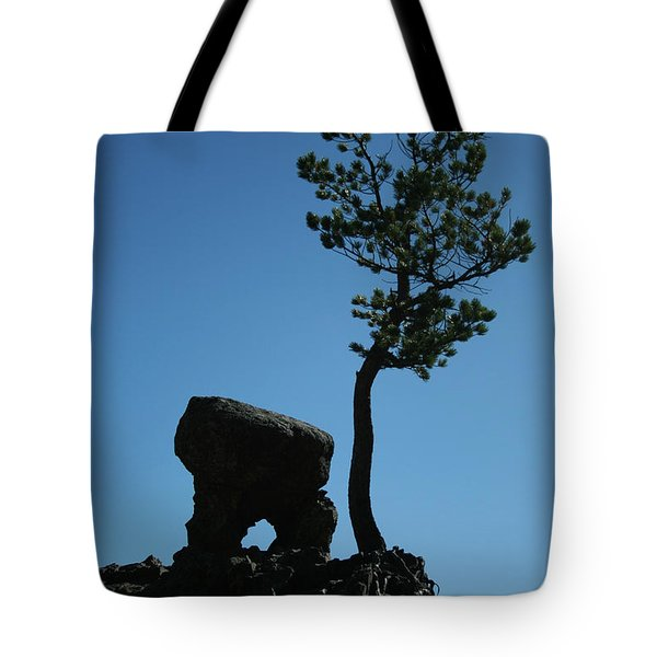 Tote Bag featuring the photograph Silhouette by Tony Baca