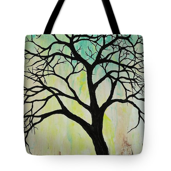 Silhouette Tree 2018 Tote Bag