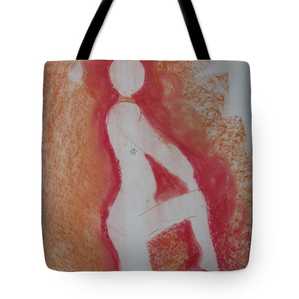 Silhouetted Figure Tote Bag