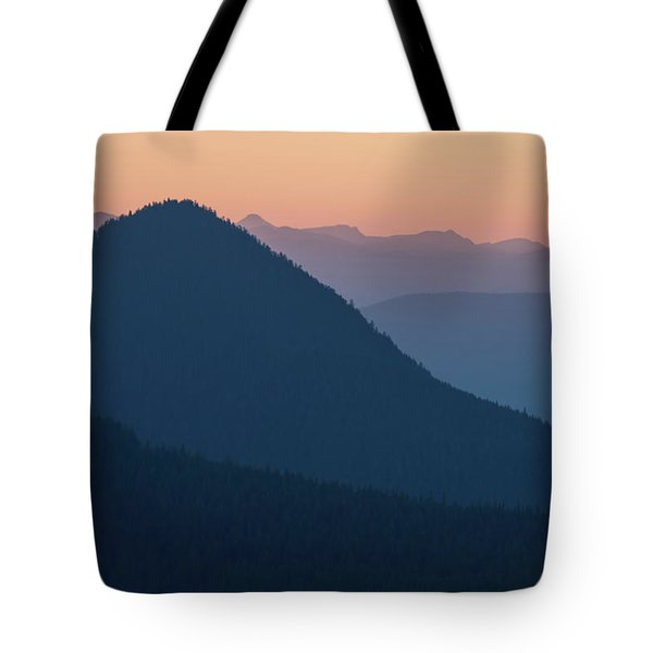 Silhouettes At Sunset, No. 2 Tote Bag