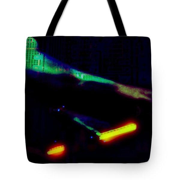 Silicon Man Tote Bag