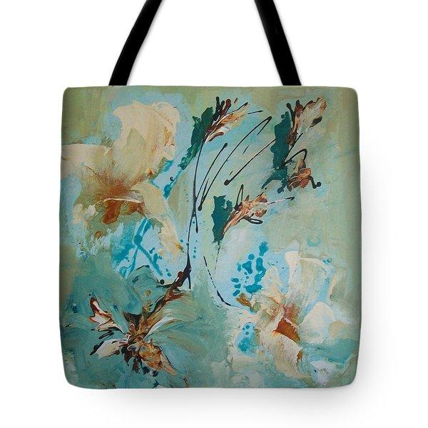 Silk Rhapsody Tote Bag