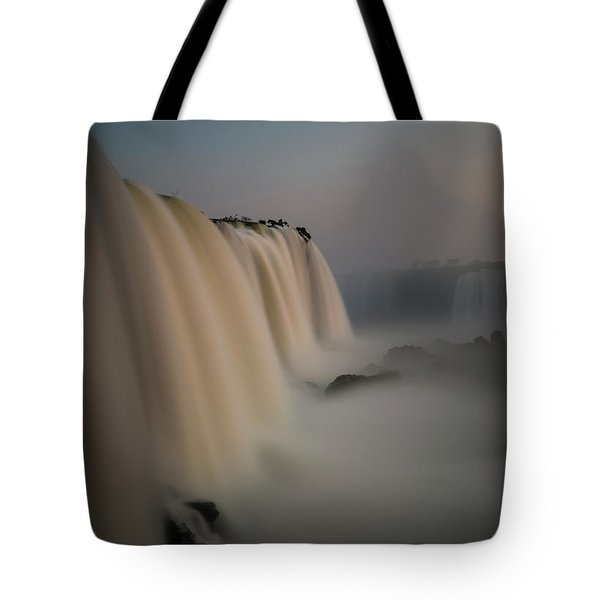 Silk Torrent Tote Bag