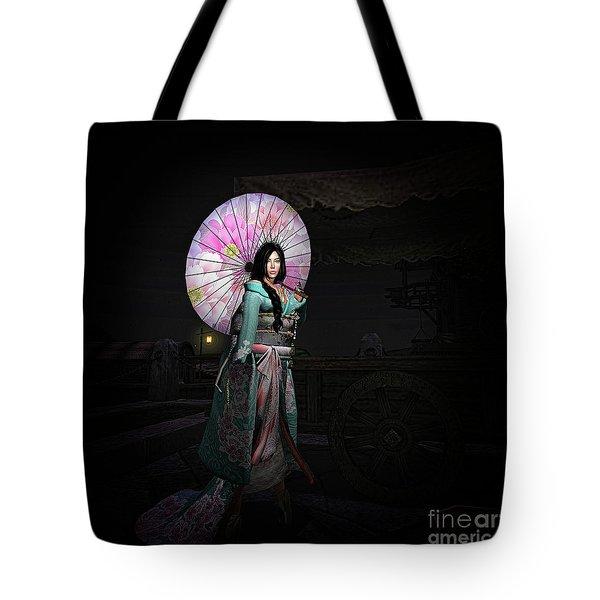 Silks And Parasols 2 Tote Bag