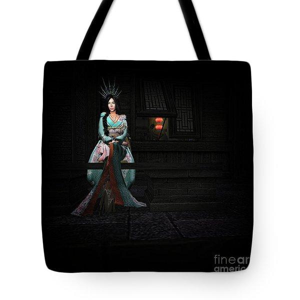 Silks And Parasols 3 Tote Bag