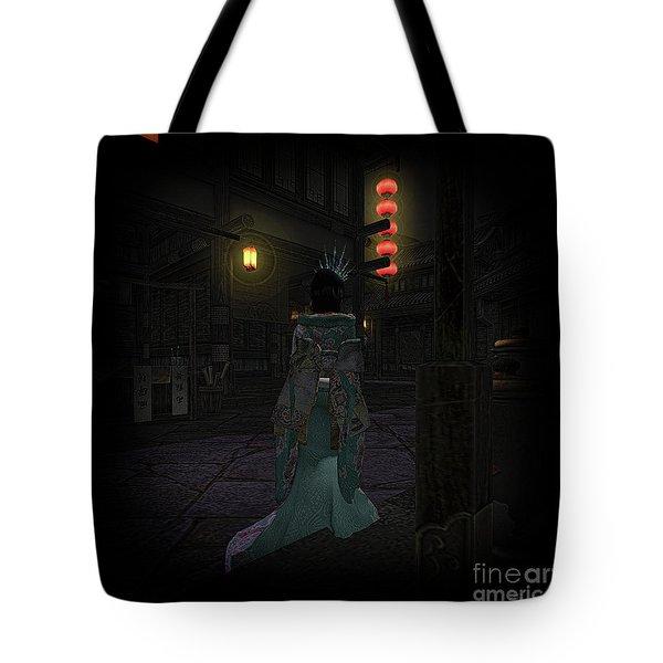 Silks And Parasols 4 Tote Bag