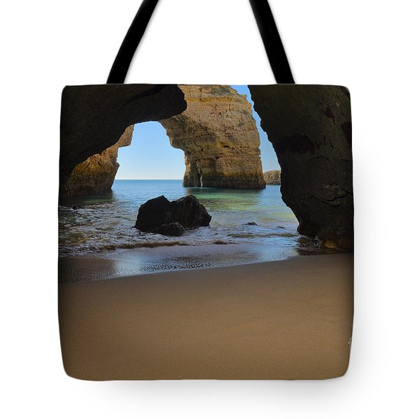 Silky Sands And Arch Tote Bag
