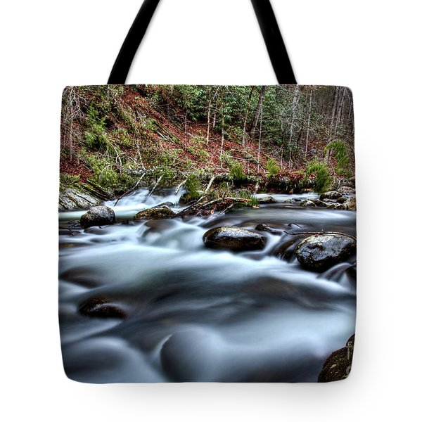 Tote Bag featuring the photograph Silky Smooth by Douglas Stucky