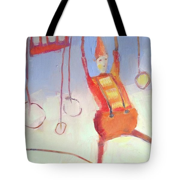 Silly Clown Tote Bag