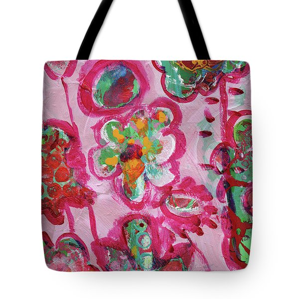 Silly Flowers Tote Bag