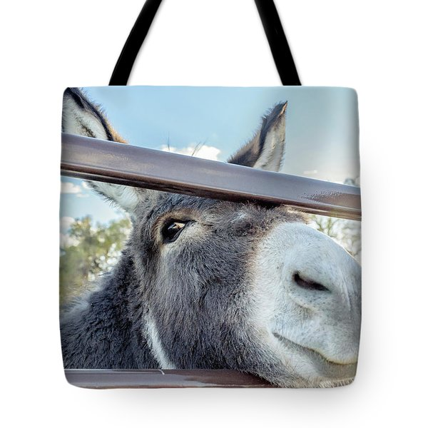 Silly Grin Tote Bag