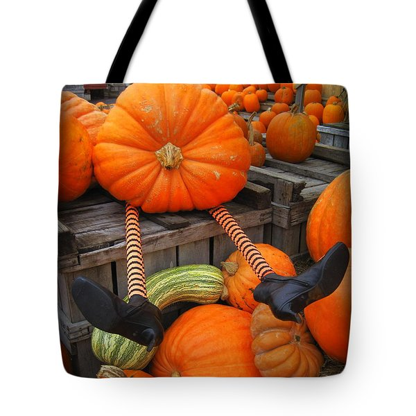 Silly Pumpkin Tote Bag