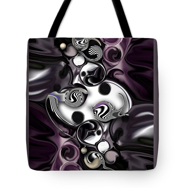 Silmulacrum Vs Dimensionality  Tote Bag by Carmen Fine Art