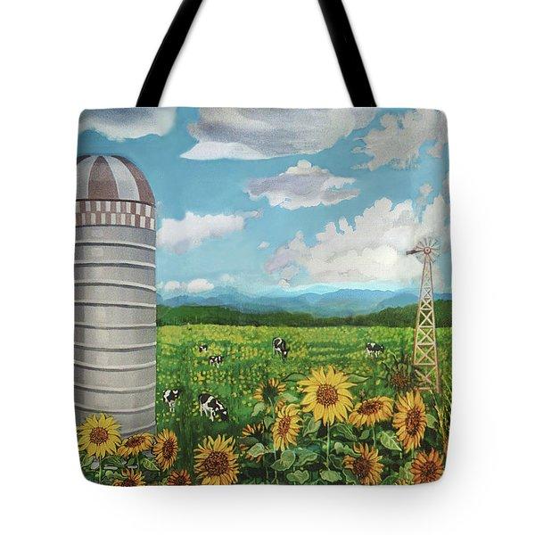 Silo Farm Tote Bag
