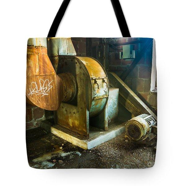 Silo Heat Exchangers Tote Bag by Darleen Stry