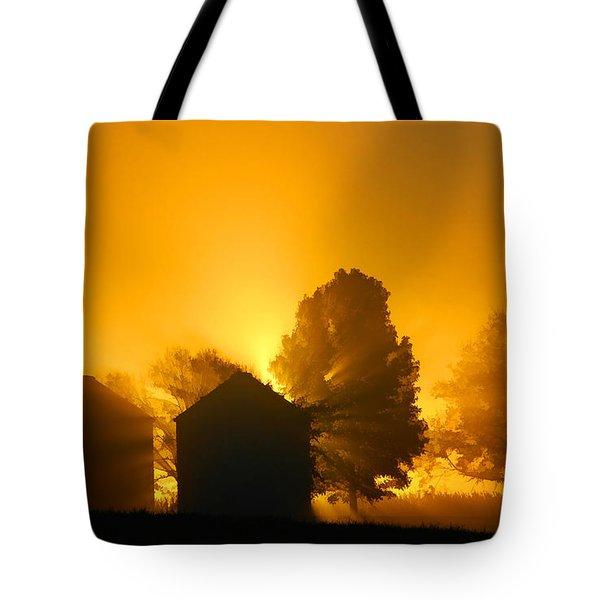 Silo Sunrise Tote Bag