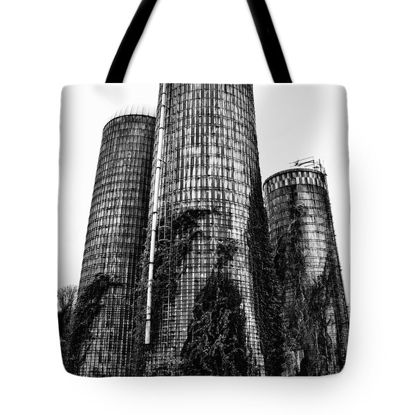Silos Tote Bag by Tamera James