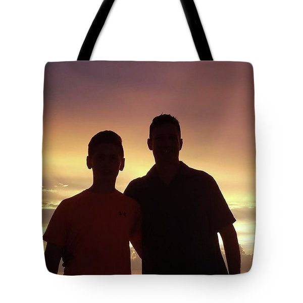 Silouettes Tote Bag by Val Oconnor
