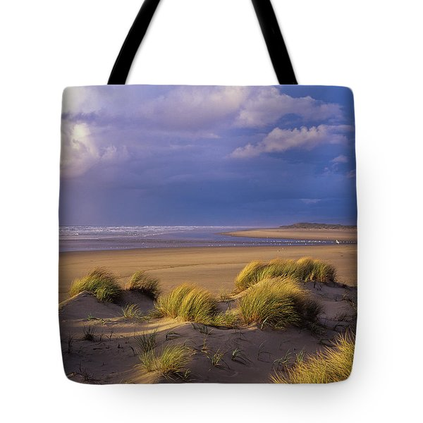 Siltcoos River Mouth Tote Bag