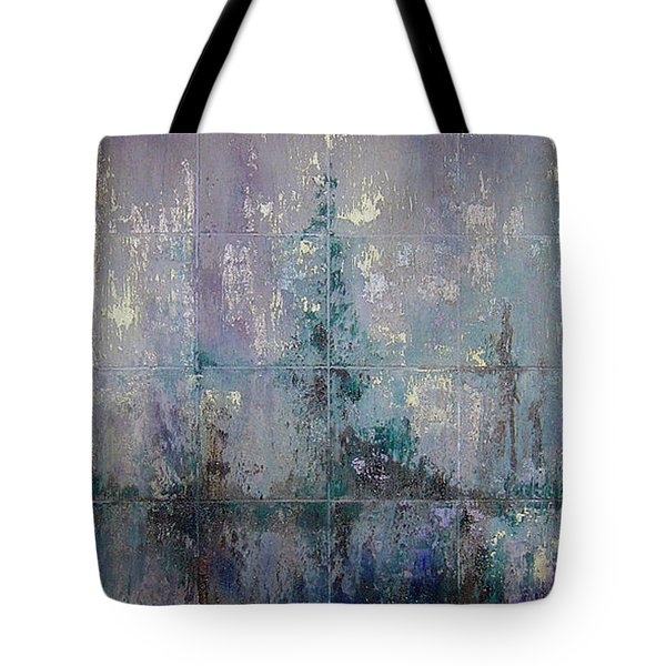 Silver And Silent Tote Bag