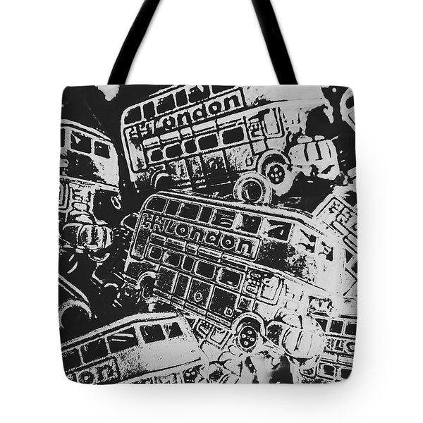 Silver City Tote Bag