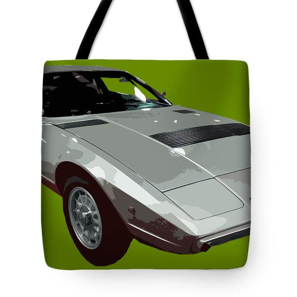 Silver Classic Sport Art Tote Bag