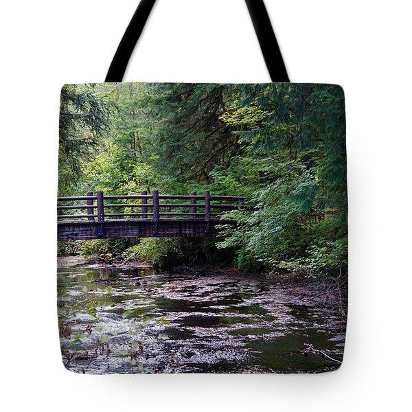 Silver Creek Falls #38 Tote Bag