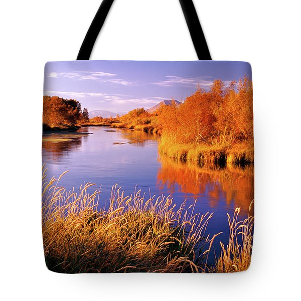 Silver Creek Fly Fishing Only Tote Bag