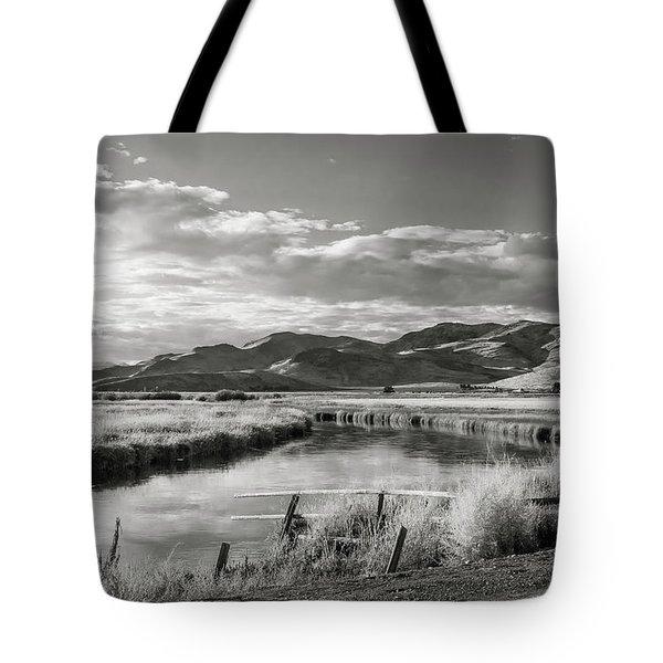 Silver Creek Tote Bag
