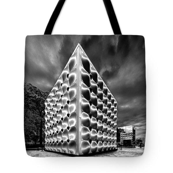 Silver Dice Tote Bag