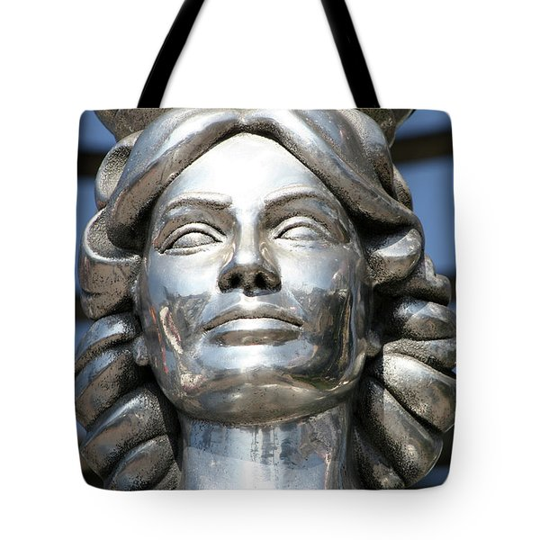 Silver Dorothy Dandridge Tote Bag