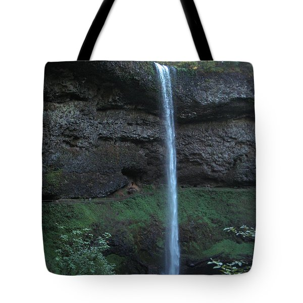 Tote Bag featuring the photograph Silver Falls by Thomas J Herring