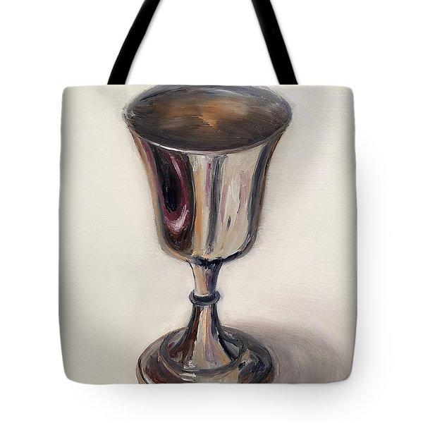 Silver Goblet Tote Bag