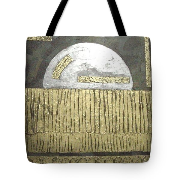 Silver Moon Tote Bag by Bernard Goodman