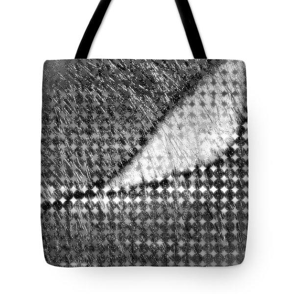 Silver Peg Tote Bag
