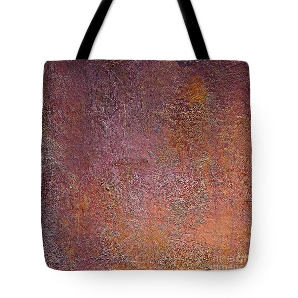 Tote Bag featuring the mixed media Silver Plum by Michael Rock