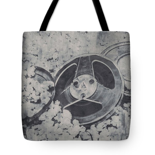 Silver Screen Film Noir Tote Bag