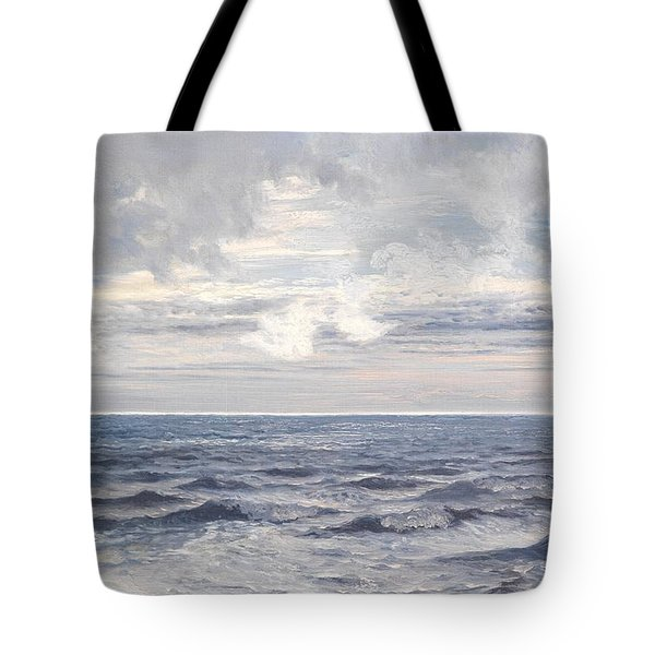 Silver Sea Tote Bag by Henry Moore