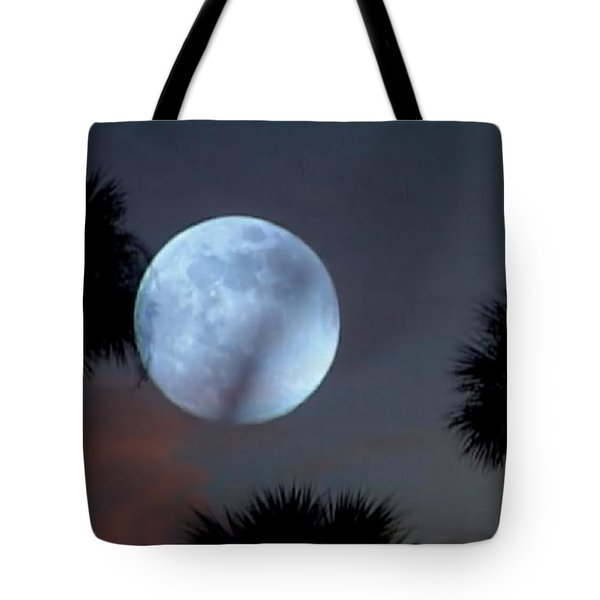 Silver Sky Ball Tote Bag