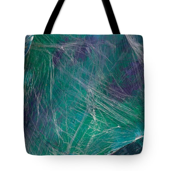 Silver Threads Tote Bag